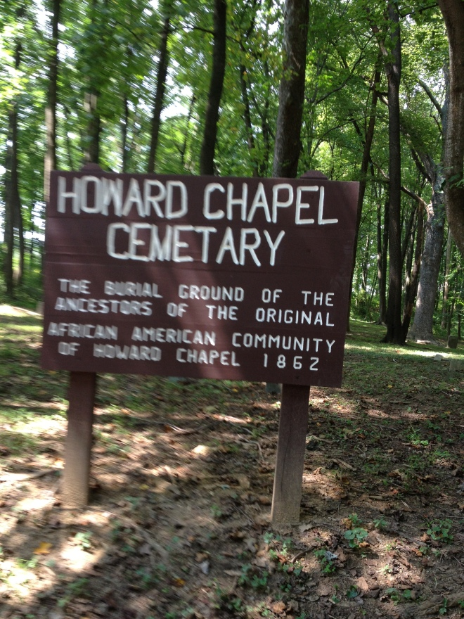 Burial Ground - Ancestors of Original African-American Community of Howard Chapel